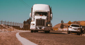 Image showing a heavy vehicle on the road